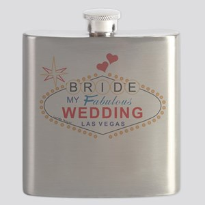 Vegas Bride Flask