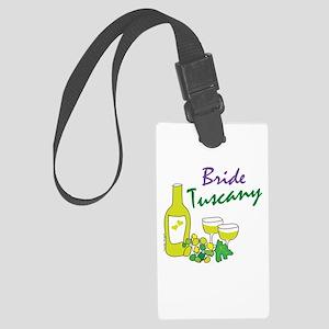 Tuscany Bride Large Luggage Tag