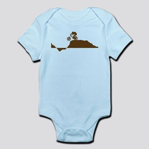 Mountain Bike Infant Bodysuit
