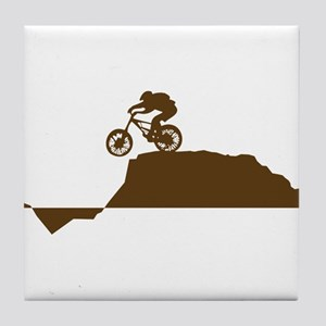 Mountain Bike Tile Coaster