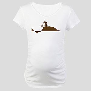 Mountain Bike Maternity T-Shirt