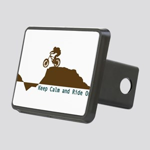 Mountain Bike - Keep Calm Rectangular Hitch Cover