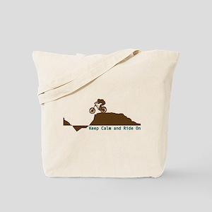 Mountain Bike - Keep Calm Tote Bag
