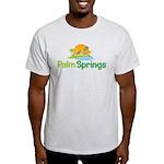 Palm Springs Ash Grey T-Shirt