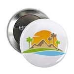 """Palm Springs Sunset 2.25"""" Button"""
