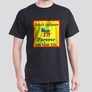 On the Tit Dark T-Shirt