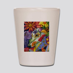 Flora Pastel Shot Glass