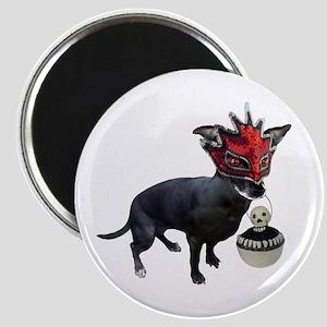 Dog in Mask Magnet