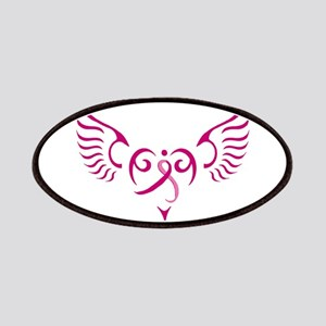Breast Cancer Awareness Angel Heart Patches