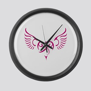 Breast Cancer Awareness Angel Heart Large Wall Clo