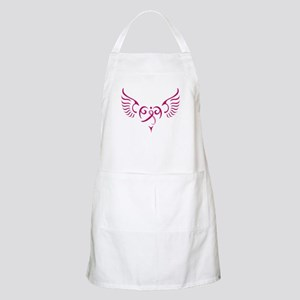 Breast Cancer Awareness Angel Heart Apron
