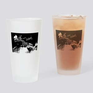 hugkd crna Drinking Glass