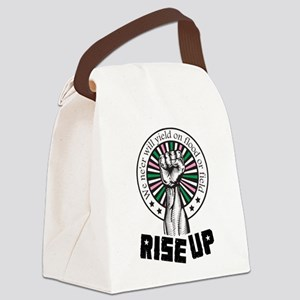 Rise Up II Canvas Lunch Bag