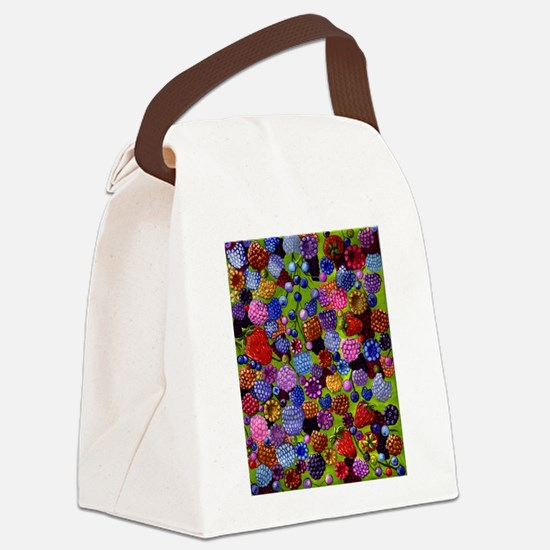 AllKindsOfBerries.jpg.JPG Canvas Lunch Bag
