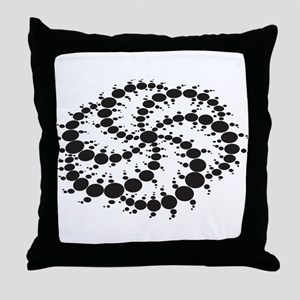 Crop Circles Consciousness Throw Pillow