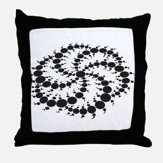 Crop Circles Consciousness Throw Pillow