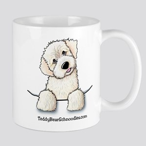 White Schnoodle Pocket Mug