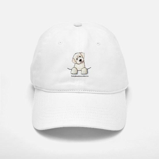 White Schnoodle Pocket Baseball Baseball Cap