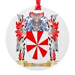 Addison Round Ornament