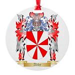 Addy Round Ornament