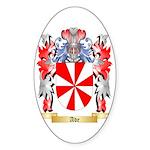 Ade Sticker (Oval 50 pk)