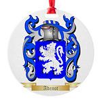 Adenot Round Ornament