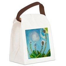 Painting by Deborah Medwin. Canvas Lunch Bag