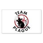 Team Plague Sticker (Rectangle 50 pk)