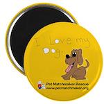 Love My Dog Magnet