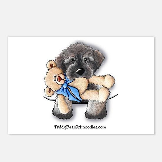 Pocket Wookie Schnoodle w/Bear Postcards (Package