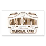 Grand Canyon National Pa Sticker (Rectangle 50 pk)