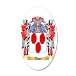 Adger 35x21 Oval Wall Decal
