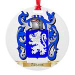 Adhams Round Ornament
