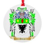 Adkin Round Ornament