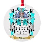 Adkins 2 Round Ornament