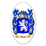 Adnot Sticker (Oval 50 pk)