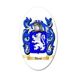 Adnot 20x12 Oval Wall Decal