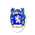 Adnot 35x21 Oval Wall Decal