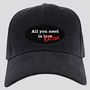 Bacon All You Need Is Black Cap