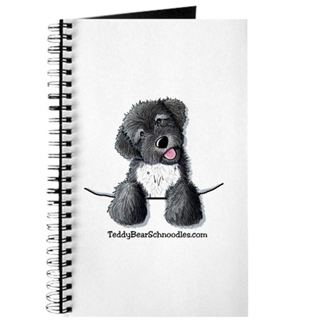 Pocket Black Schnoodle Journal