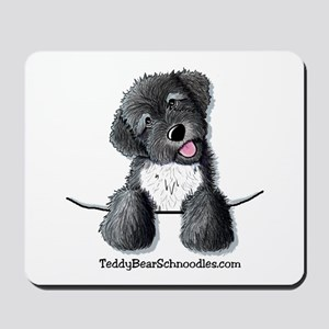 Pocket Black Schnoodle Mousepad