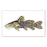 Giraffe Bubu Catfish  Sticker (Rectangle 50 pk)