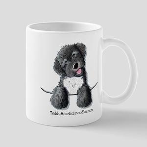 Pocket Black Schnoodle Mug
