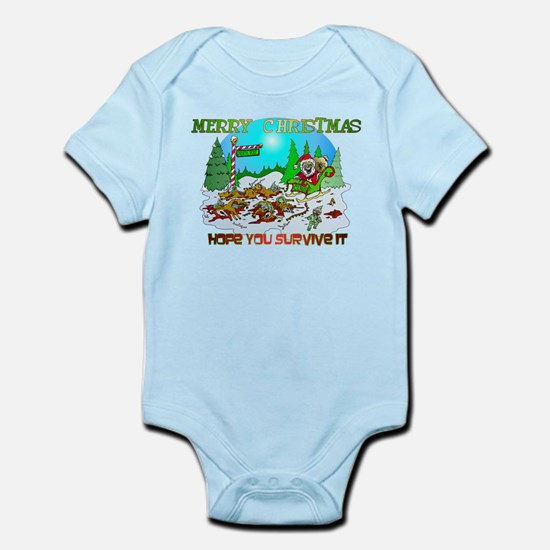 Zombie Christmas Killings Infant Bodysuit