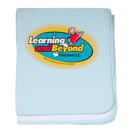 Learning and Beyond Preschool baby blanket