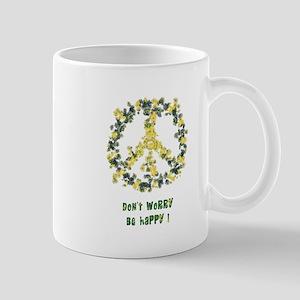 Solarium Flower Peace - Be Happy Mug