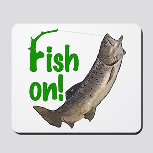 Fish on! 3 Mousepad