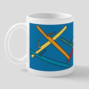 Colorful Bassoons Blue Mug