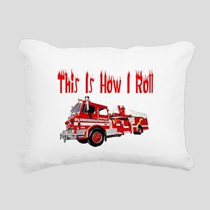 how I rollfire Rectangular Canvas Pillow