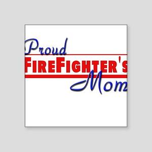 "proud mom Square Sticker 3"" x 3"""
